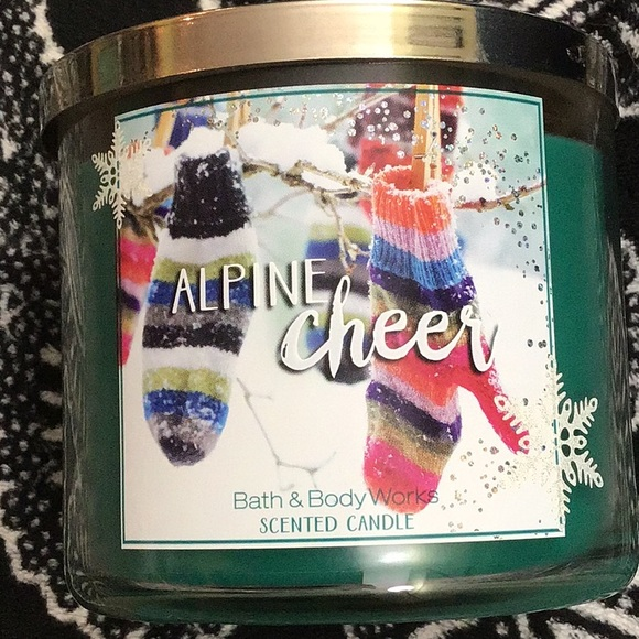 Bbw Alpine cheer candle